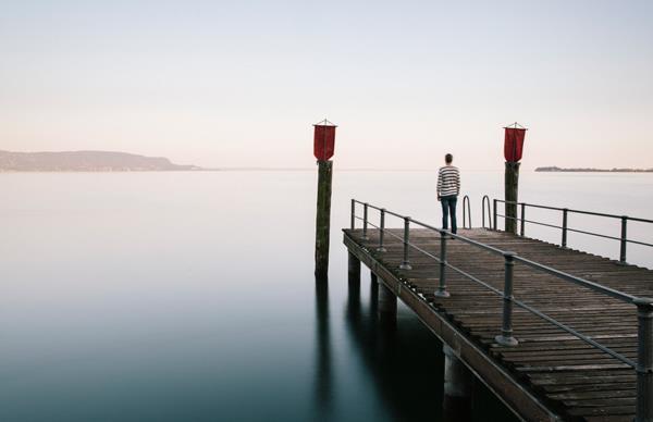 Lake Garda seen from Gardone Riviera