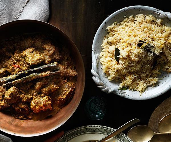 "**[Lamb korma](https://www.gourmettraveller.com.au/recipes/browse-all/lamb-korma-12303|target=""_blank""|rel=""nofollow"")**"