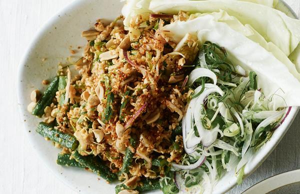 Thai-style chicken larb