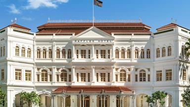 Raffles Singapore reopens after historic restoration