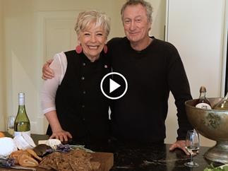 Maggie Beer and Bryan Brown