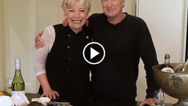 Watch: Maggie Beer and Bryan Brown's guide to entertaining