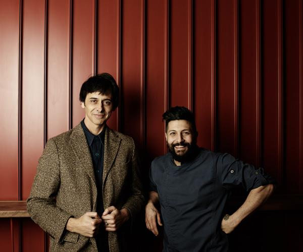 Tetto di Carolina owner Joe Mammone and executive chef Matteo Tine.