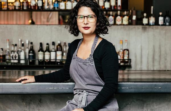 Franklin chef Analiese Gregory