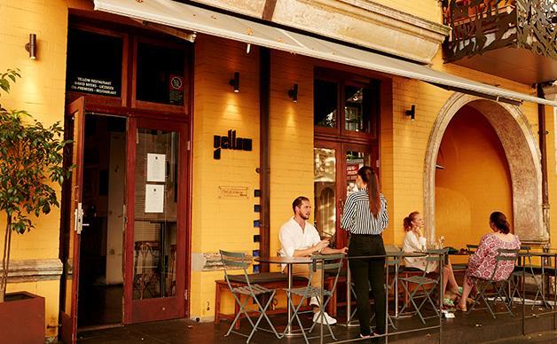 Yellow restaurant Sydney