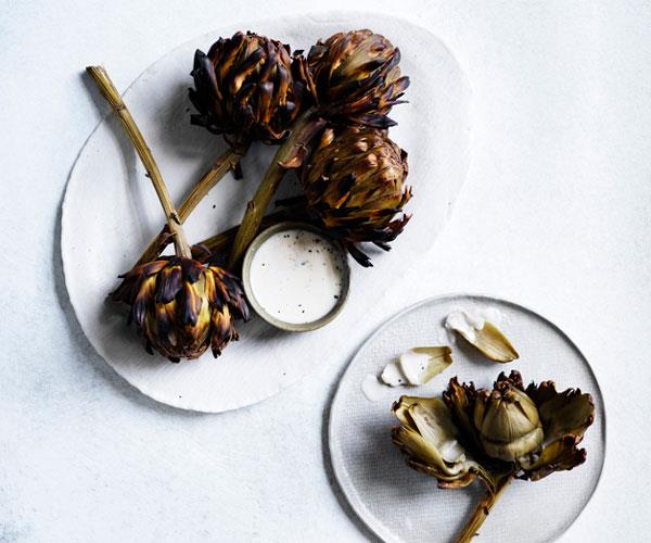 """**[Dave Pynt's artichokes with Taleggio sauce](https://www.gourmettraveller.com.au/recipes/browse-all/artichokes-with-taleggio-sauce-12861