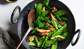 Tony Tan's stir-fried chicken with Chinese olive vegetable