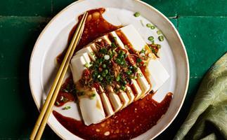 Spicy silken tofu