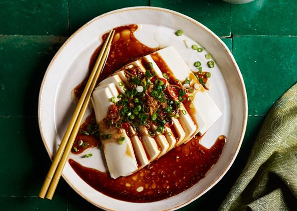 Tony Tan's spicy silken tofu