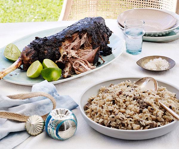 "**[Paul Carmichael's curried lamb leg](https://www.gourmettraveller.com.au/recipes/chefs-recipes/paul-carmichaels-curried-lamb-leg-8542|target=""_blank"")** <br/> ""Mum would always whip up a leg of lamb basted in curry and it was so delicious. A version of this would find its way to our table during the year if someone slaughtered a lamb. But it was a staple at Christmas,"" says the Momofuku Seiobo head chef and *GT*'s Chef of the Year)."