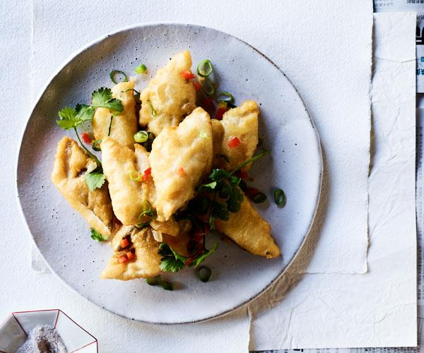 "**[Lau's Family Kitchen's salt and pepper whiting](https://www.gourmettraveller.com.au/recipes/chefs-recipes/salt-pepper-whiting-17833|target=""_blank"")**"