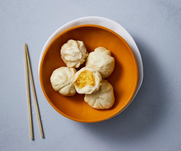 "**[Spice Temple's custard buns](https://www.gourmettraveller.com.au/recipes/chefs-recipes/custard-buns-17844|target=""_blank"")**"