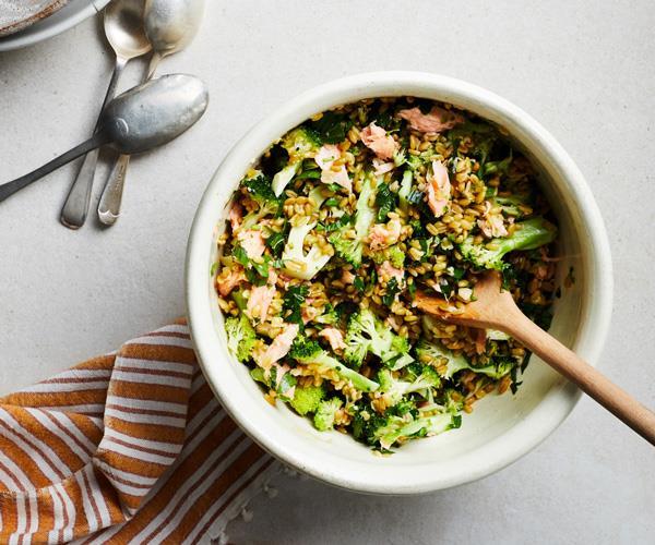 "**[https://www.gourmettraveller.com.au/recipes/fast-recipes/farro-salad-17853](https://www.gourmettraveller.com.au/recipes/fast-recipes/farro-salad-17853|target=""_blank""|rel=""nofollow"")**"