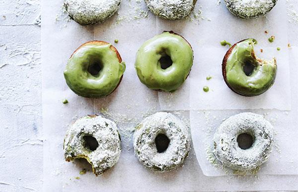Matcha doughnuts recipe