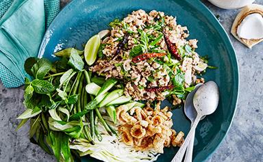 Amy Chanta's guide to making larb gai