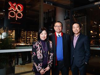 Linda, Eric and Billy Wong at XOPP.