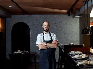 Navi chef-owner Julian Hills.