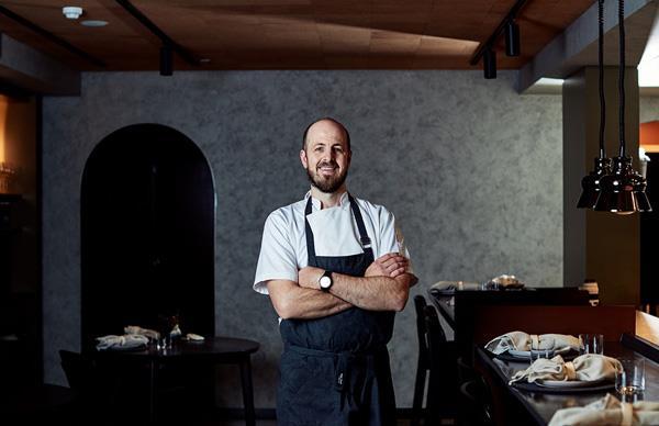 Navi chef-owner Julian Hills.