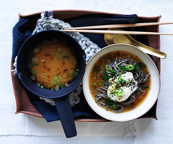 "**[Miso with soba, poached eggs and spring onion](https://www.gourmettraveller.com.au/recipes/fast-recipes/miso-with-soba-poached-eggs-and-spring-onion-13744|target=""_blank""