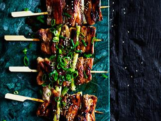 Yakitori Pork Skewers