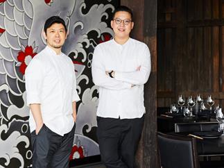Chuuka executive chefs Chase Kojima and Victor Liong
