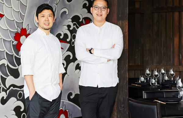 Chuuka executive chefs Chase Kojima and Victor Liong