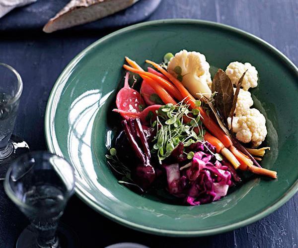 Giardinièire (pickled garden vegetables)