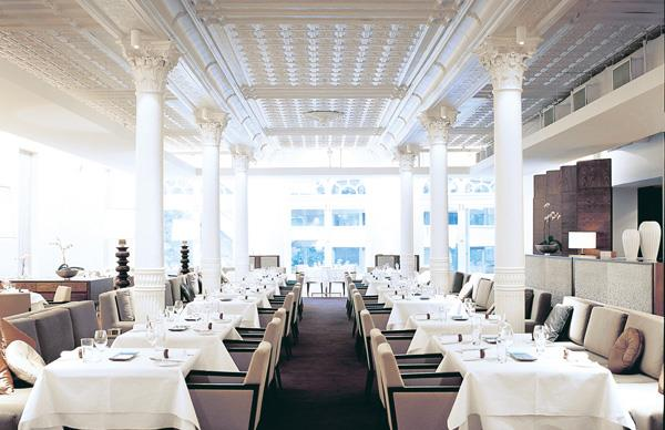 The dining room at Est.