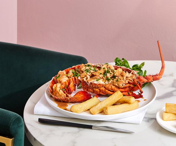 "**[Lobster Australienne by Mary's Underground](https://www.gourmettraveller.com.au/recipes/chefs-recipes/lobster-australienne-17925|target=""_blank"")**"
