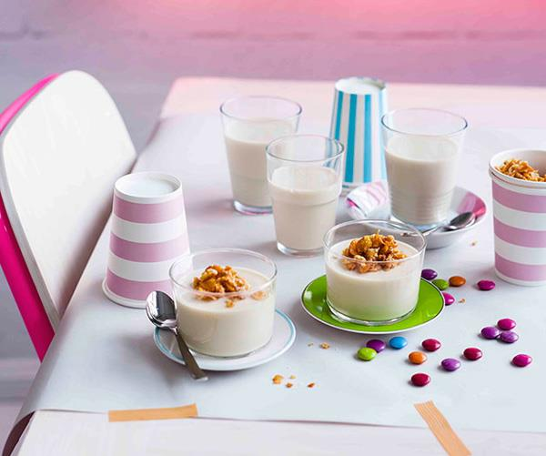 Cereal Milk panna cotta