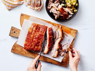 Perfect roast pork