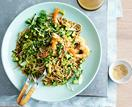 Prawn and soba noodle salad with sesame-ginger dressing