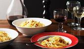 Massimo Bianchi's spaghetti carbonara