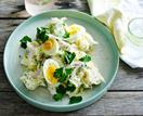 Classic egg and potato salad