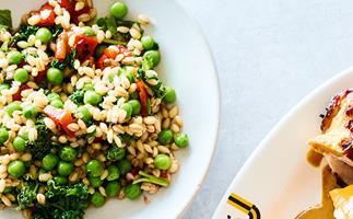 JoyBird's pea and barley salad