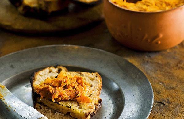 Frank Camorra: Morcilla de calabaza (Spicy pork and pumpkin pâté)