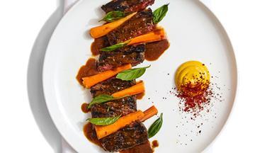 Anatomy of a dish: Sunda's steak with sunrise lime satay