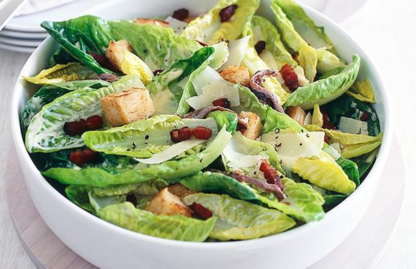 A fast Caesar salad