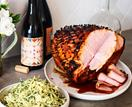 Fleet's whisky-and-honey-glazed ham
