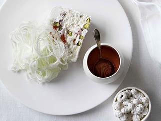Persian nougat glacé