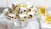A step by step guide to making this cranberry, pistachio and almond nougat