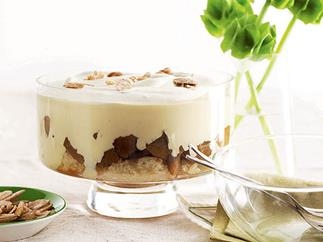 Apple and Calvados trifle