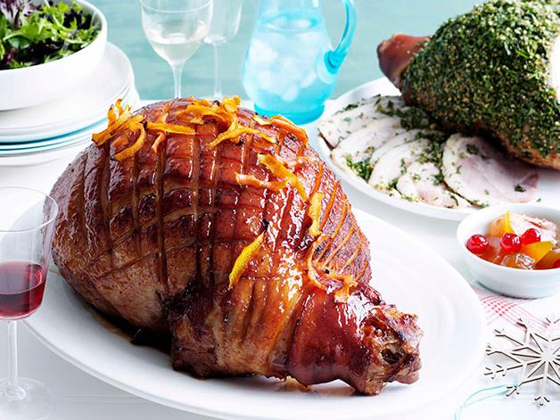 "**[Glazed ham recipes](https://www.gourmettraveller.com.au/recipes/browse-all/glazed-ham-11819|target=""_blank"")**"