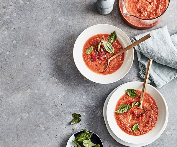 "**[Mike McEnearney's fast gazpacho](https://www.gourmettraveller.com.au/recipes/fast-recipes/fast-gazpacho-18052|target=""_blank"")**"