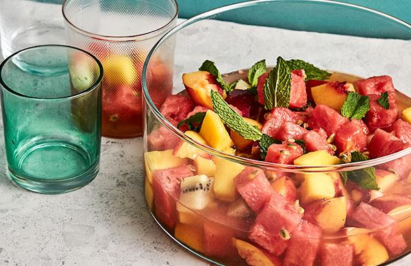 Fruit salad punch