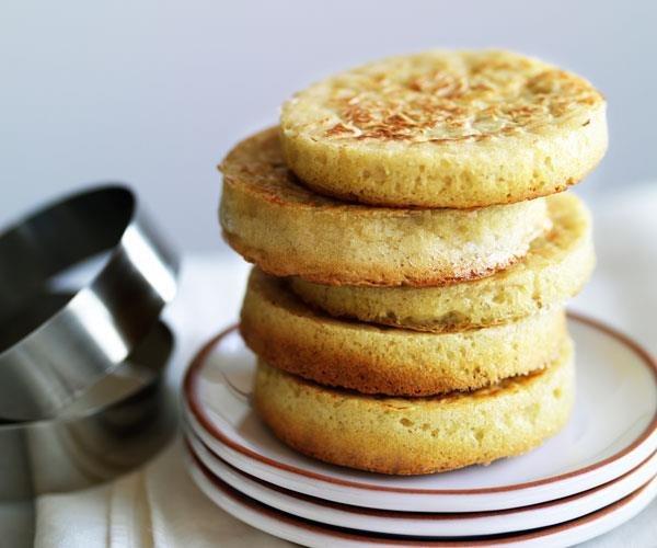 """**[How to make crumpets from scratch](https://www.gourmettraveller.com.au/recipes/browse-all/crumpets-14154