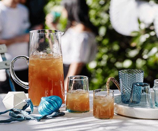 Bajan rum punch