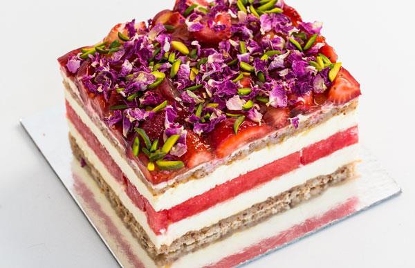 Black Star Pastry's strawberry watermelon cake
