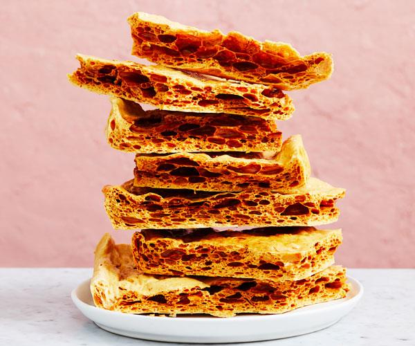 "**[How to make honeycomb](https://www.gourmettraveller.com.au/recipes/explainers/honeycomb-18086|target=""_blank""