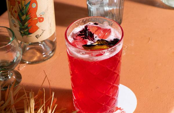 Rosado cocktail